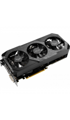 VGA ASUS GeForce GTX1660 TUF3 DirectCU III Advanced 6GB 192bit GDDR5 (1500-1830/8002) DVI-D/1xHDMI 2.0b/1xDP (TUF3-GTX1660-A6G-GAMING)