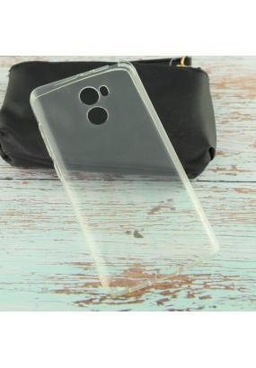 Силиконовая накладка для Xiaomi RedMi 4 Прозрачный