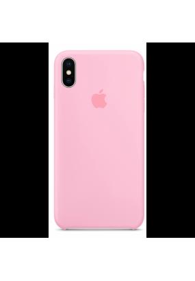 Чехол Apple Silicone Case для iPhone X (pink)