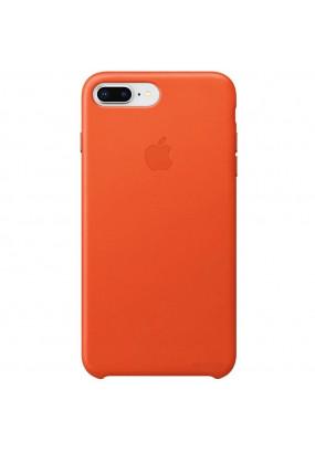 Чехол Apple Silicone Case для iPhone 7/8 Plus (orange)