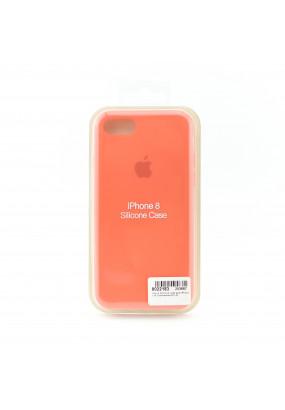Чехол Apple Silicone Case для iPhone 7/8 (orange)