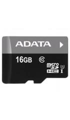 Карта памяти A-Dаta microSDHC 16GB UHS-I Class 10 + adapter (AUSDH16GUICL10-RA1)