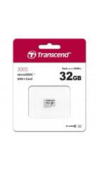Карта памяти Transcend microSDHC 300S 32GB Class 10 UHS-I U1 (TS32GUSD300S)