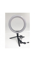 Кольцевая LED лампа  Ring Fill Light (20см)+штатив-тренога 0.2м