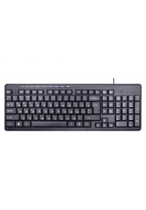 Клав. Ritmix RKB-155 Black, Multimedia, USB, 102+9кн., регулировка угла наклона, кабель: 1,35 м