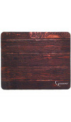 "Коврик Gembird MP-WOOD, рисунок ""дерево"", размеры 220*180*1мм, полиэстер+резина"