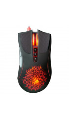 Мышь A4 Bloody A90 Blazing Black, 4000dpi, 8but, USB, оптическая