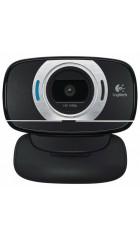 Web Logitech HD C615 черный (1920x1080) USB2.0 с микрофоном
