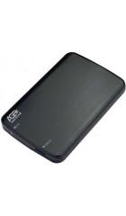 "Корпус для HDD/SSD 2.5"" SATA3 USB3.0 AgeStar 3UB2A12-6G Black, алюминий/пластик, безвинтовой"