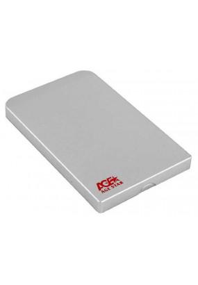 "Корпус для HDD/SSD 2.5"" SATA USB3.0 AgeStar 3UB2O1 Black, алюминиевый"