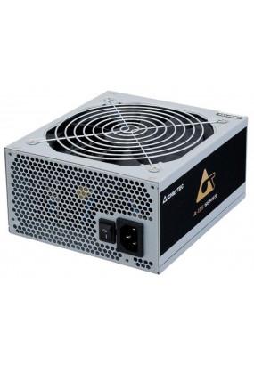Блок питания CHIEFTEC APS-600SB, Retail, 600W, v.2.3/EPS, 80+ BRONZE, A.PFC, 2x PCI-E (6+2-Pin), 6x SATA, 3x MOLEX, Fan 14cm