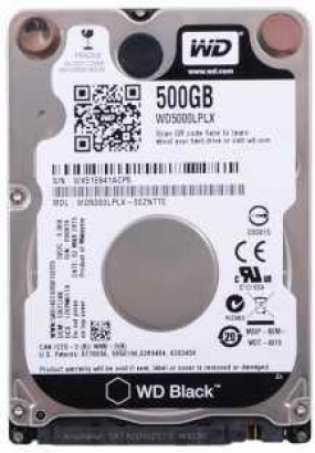 """HDD 2,5"""" 500GB 7200rpm SATA3 32MB WD Black (WD5000LPLX) максимальное быстродействие для сложных задач"""