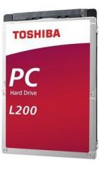 """HDD 2.5"""" 1.0TB 5400rpm SATA3 128MB Toshiba Slim Mobile L200 (HDWL110UZSVA) 7 mm"""