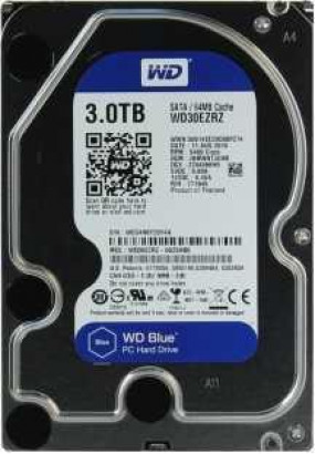 "HDD 3.5"" 3.0TB IntelliPower SATA3 64MB WD Blue (WD30EZRZ)"