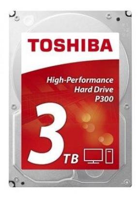 "HDD 3.5"" 3.0TB 7200rpm SATA3 64MB Toshiba P300 High Performance (HDWD130UZSVA)"