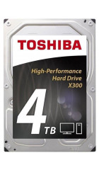 "HDD 3.5"" 4.0TB 7200rpm SATA3 128MB Toshiba X300 High Performance (HDWE140UZSVA) (HDETR11GCA51)"