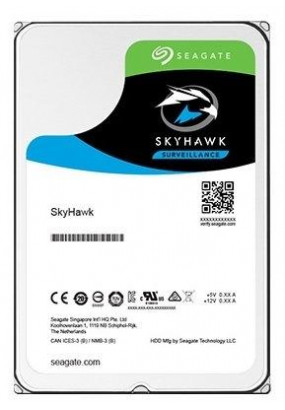 """HDD 3.5"""" 1.0TB 7200rpm SATA3 64MB Seagate SkyHawk (ST1000VX005) 24/7, для систем видеонаблюдения и AV-серверов"""