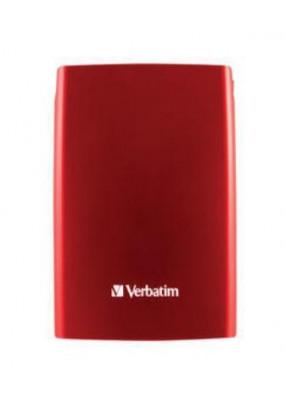 "HDD ext 2.5"" 1.0TB USB3.0 Verbatim Store 'n' Go Style, красный (53203)"