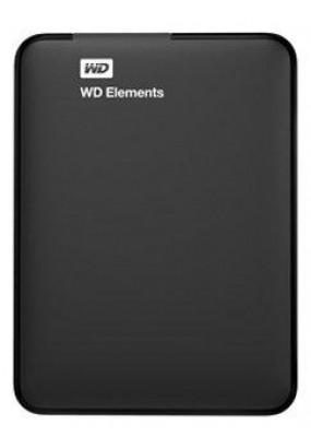 """HDD ext 2,5"""" 500GB USB3.0 WD Elements Portable, чёрный (WDBUZG5000ABK-WESN)"""