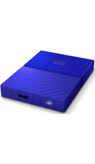 """HDD ext 2.5"""" 1.0TB USB3.0 WD My Passport, синий (WDBBEX0010BBL-EEUE)"""