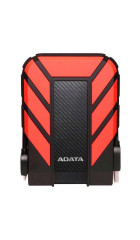 "HDD ext 2.5"" 1.0TB USB3.1 ADATA DashDrive Durable HD710 Pro, прорезиненный, черный/красный (AHD710P-1TU31-CRD) Waterproof/Dustproof/Shockproof, военный стандарт MIL-STD-810G 516.6"