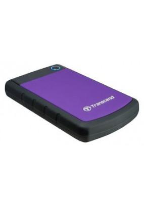 """HDD ext 2.5"""" 1.0TB USB3.0 Transcend StoreJet 25H3, прорезиненный, синий (TS1TSJ25H3B)"""