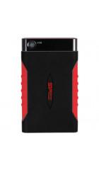 "HDD ext 2.5"" 1.0TB USB3.0 Silicon Power Armor A15, ударопрочный, чёрный/красный (SP010TBPHDA15S3L)"