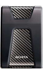 "HDD ext 2.5"" 1.0TB USB3.1 ADATA DashDrive Durable HD650, ударопрочный, чёрный (AHD650-1TU31-CBK) Anti-shock Silicone, Scratchproof"