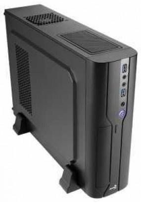 Корпус Aerocool Cs-101 Black, slim desktop, mATX/mini-ITX, 2x USB 3.0, 400Вт SFX.