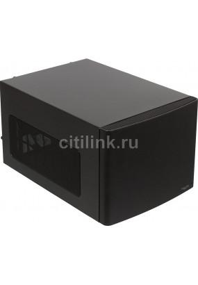 Корпус Fractal Design Node 304, Mini-ITX, Micro-Tower, сталь, без блока питания, 2xUSB на лицевой панели, 250x210x374 мм, 4.9 кг, цвет: черный