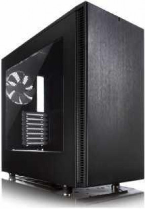 Корпус Fractal Design Define S Window, ATX, mATX, Mini-ITX, Midi-Tower, без блока питания, 2xUSB на лицевой панели, 233x451x520 мм, 9.1 кг, цвет: черный