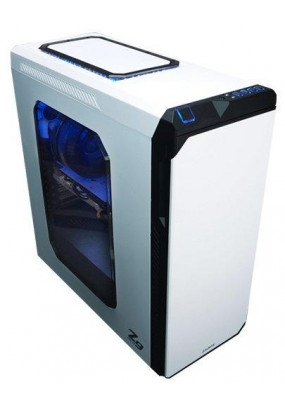 Корпус ZALMAN Z9 NEO PLUS White, ATX, mATX, Mini-ITX, Midi-Tower, без блока питания, 4xUSB на лицевой панели, 205x482x490 мм, цвет: белый