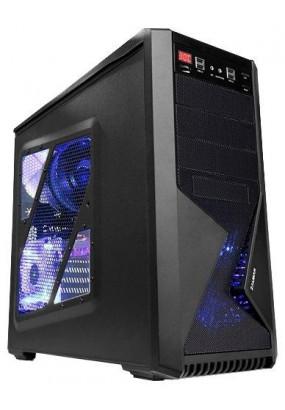 Корпус ZALMAN Z9 NEO PLUS Black, ATX, mATX, Mini-ITX, Midi-Tower, без блока питания, 4xUSB на лицевой панели, 205x482x490 мм, цвет: черный
