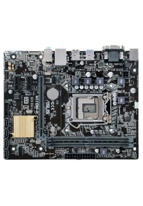 MB s1151 ASUS H110M-K, Intel H110, 2xDDR4, 1xPCI-Ex16/2xPCI-Ex1, ALC887, 4xSATA3, 2xUSB3.0/4xUSB2.0, GLAN, D-Sub/DVI, 2xPS/2, mATX