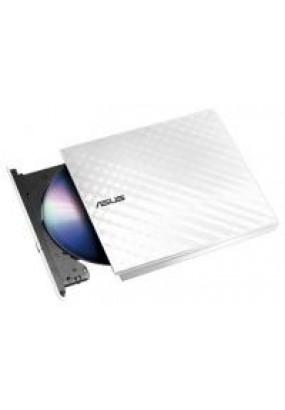 ODD ext DVD±RW ASUS Slim Drive SDRW-08D2S-U LITE White, USB2.0, 20 mm, Retail (SDRW-08D2S-U LITE/WHT/G/AS) (90-DQ0436-UA221KZ)