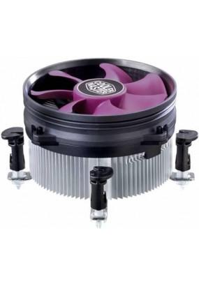 Охладитель CoolerMaster X Dream i117 (RR-X117-18FP-R1), S115x/775, TDP 95W, 3 pin, fan Ф95x20mm, 1800rpm, 19dBA, 36.5CFM, MTBF 40000 hrs, Rifle bearing, общая высота 60mm