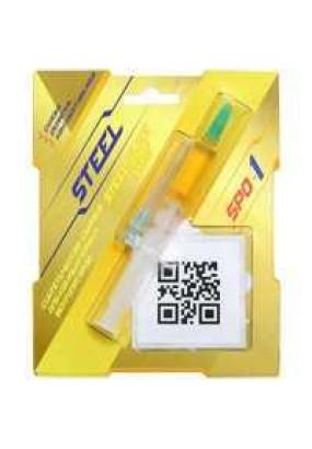 Смазка для вентиляторов STEEL Glide Synt SPO-1, шприц 2 гр., синтетическое масло, рабочая температура: -20 +200°C, вязкость при 40°C: 50 мм2/с, комплект наклеек, салфетка