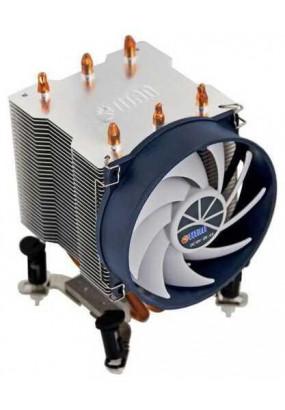 Охладитель Titan TTC-NK35TZ/R(KU), All Sockets, TPD 140W, 3pin, fan Ф95x25mm, 2200 rpm, 21 dBa, 32.76 CFM, Z-Axis (rifle bearing), Alu+Cu, 674g