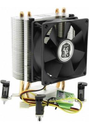 Охладитель Titan TTC-NC65TX(RB), All Sockets, TPD 115W, 3pin, fan Ф95x66mm, 1500-2200 rpm, 17.5-25.8 dBa, 25.76 CFM, sleeve bearing, Alu, 432g