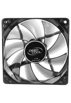 Вентилятор 120 мм Deepcool WIND BLADE 120 LED, 3-pin+molex, Ф120х25mm, 1300rpm, 26dBA, 65.16 CFM, HDB (hydro dynamic bearing), 118 гр.