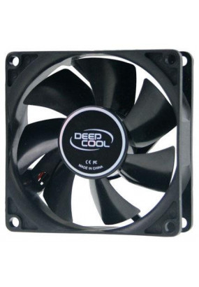Вентилятор 80 мм Deepcool XFAN 80, 4-pin molex, Ф80x25mm, 1800rpm, 20dBA, 21.8 CFM, HDB (hydro dynamic bearing), 82 гр.