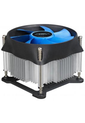 Охладитель Deepcool THETA 20 PWM, S115x, TDP 95W, 4-pin, fan Ф100x25mm, 900-2400rpm, 18-33dBA, 42.76 CFM, HDB (hydro dynamic bearing), 376 гр.