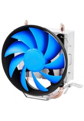 Охладитель Deepcool GAMMAXX 200T, S115x/FM2+/AM2+/AM3+/AM4, TPD 100W, 4-pin PWM, fan Ф120х25mm, 900-1600rpm, 18-26.1dBA, 54.25 CFM, HDB (hydro dynamic bearing), 449 гр.