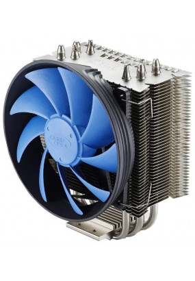 Охладитель Deepcool GAMMAXX S40, S115x/2011/FM2+/AM2+/AM3+/AM4, TPD 130W, 4-pin PWM, fan Ф120х25, 900-1600rpm, 18-26.1dBA, 54.25 CFM, HDB (hydro dynamic bearing), 745 гр.