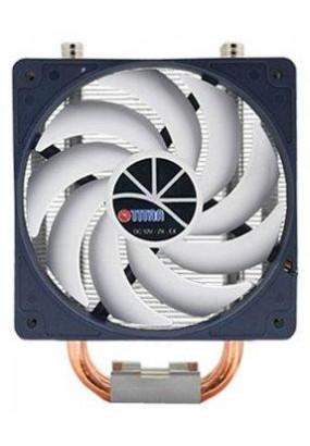 Охладитель Titan Hati, All-sockets, 3 теплотрубки, TPD 160W, 4-pin PWM, Ф120х25mm, 800-2200rpm, 15-35dBA, 24.23-66.62 CFM, SB (sleeve bearing), 1100 гр.