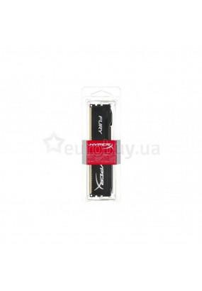 RAM 8GB DDR3-1600 PC3-12800 Kingston HyperX Fury Black, CL10 (10-10-10), 1.5V, retail (HX316C10FB/8)