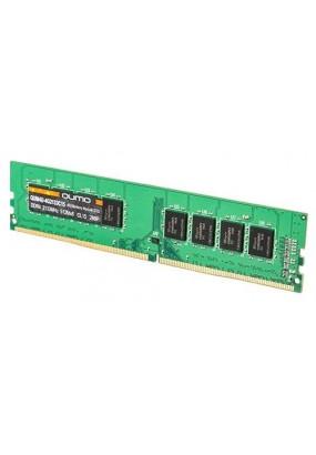 RAM 8GB DDR4-2400 PC4-19200 Qumo, CL16, 1.2V, retail (QUM4U-8G2400P16)
