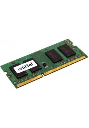 RAM SO-DIMM DDR3-1600 8GB PC3-12800 Crucial, CL11, LV 1.35V, retail (CT102464BF160B)