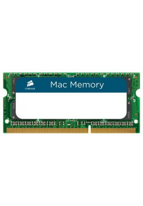 RAM SO-DIMM 8GB DDR3-1600 PC3-12800 Corsair Mac Memory, CL11 (11-11-11-30), LV 1.35V, retail (CMSA8GX3M1A1600C11)