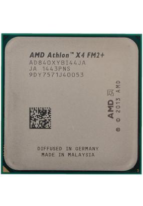 CPU sFM2+ AMD Athlon X4 840 Tray (AD840XYBI44JA) (3.10-3.80GHz, Kaveri, 4C/4T, GPU: none, L2: 4MB, 28nm, 65W)